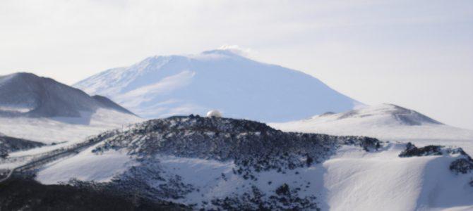 Niezwykły antarktyczny Erebus
