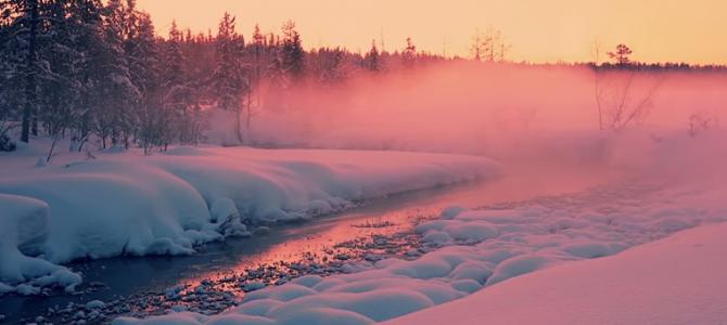 Odrobinę smutny, ale piękny spokój zimy :)