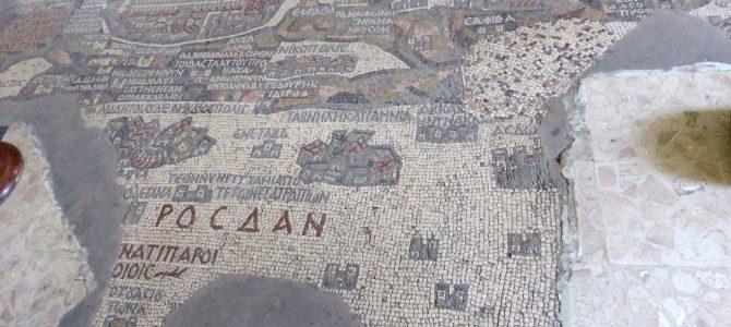 Najstarsza mapa Ziemi Świętej z VI wieku…